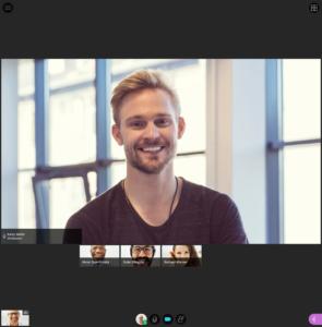 Collaborate Screenshot of Follow Leader mode