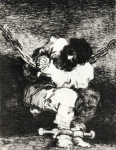 The Custody is as Barbarous as the Crime. Francisco de Goya. ECA Library Image Collection http://images.is.ed.ac.uk/luna/servlet/s/n25sfo