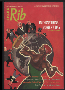 Image from the British Library who have generously digitised the archive of Spare Rib. http://www.bl.uk/spare-rib