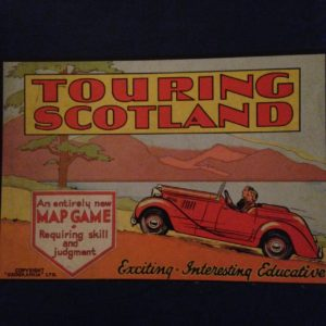 Touring Scotland Game, owned by me but not my copyright.