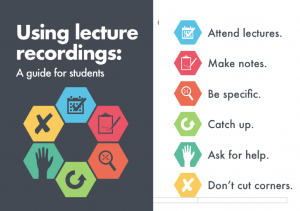 lecture recording guidelines