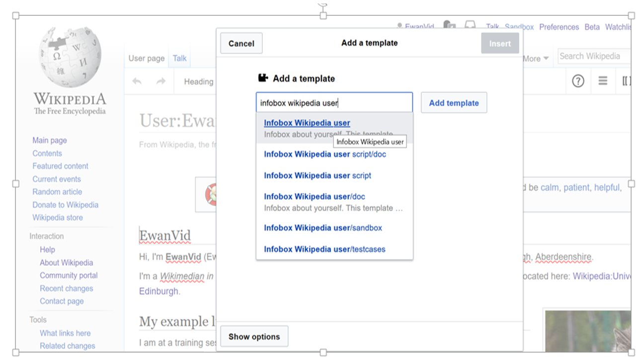 how to add infobox to wikipedia