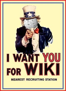 I Want You For Wiki CC-BY-SA