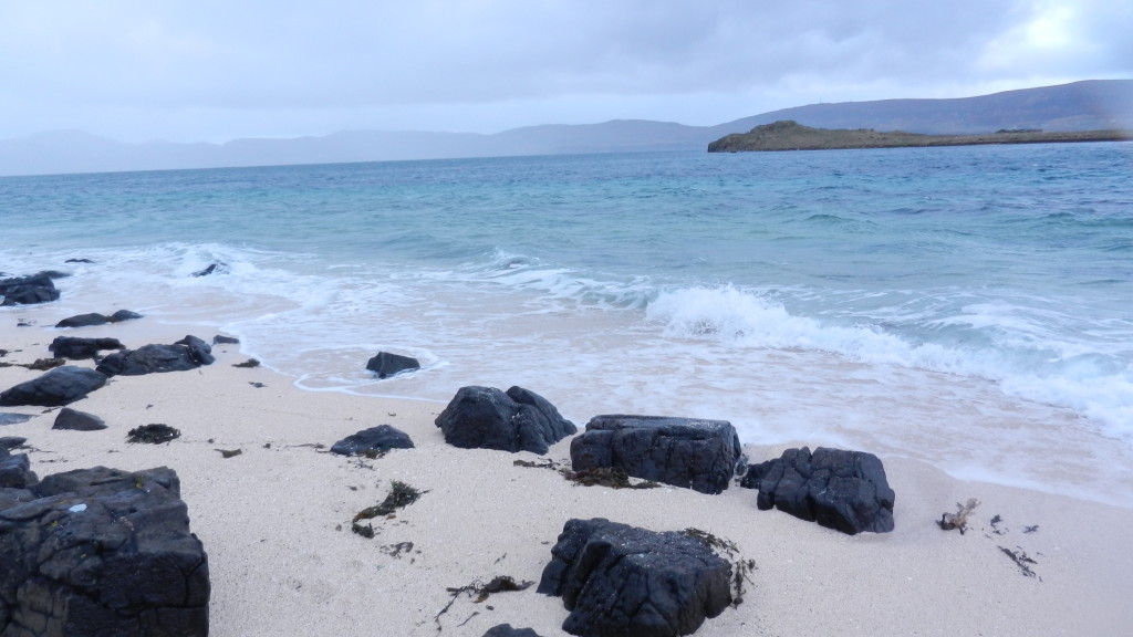 Skye's white coral beaches near Dunvegan