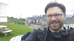 Me in Mallaig after walking the West Highland Way and riding the Harry Potter train.