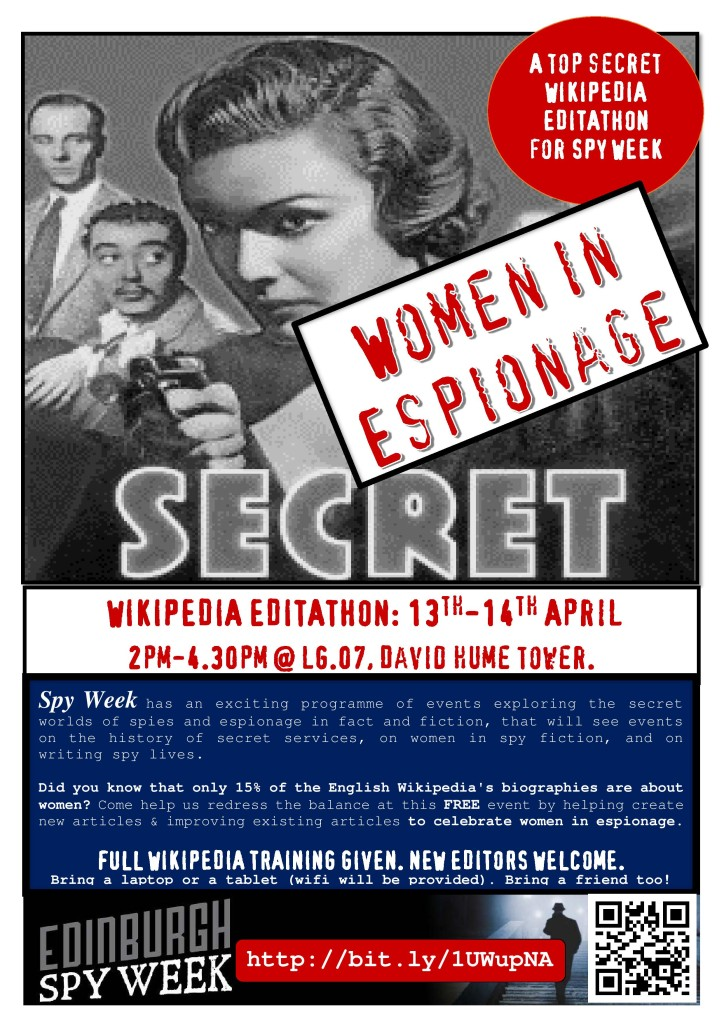 Spyweek poster by Ewan McAndrew (own work)