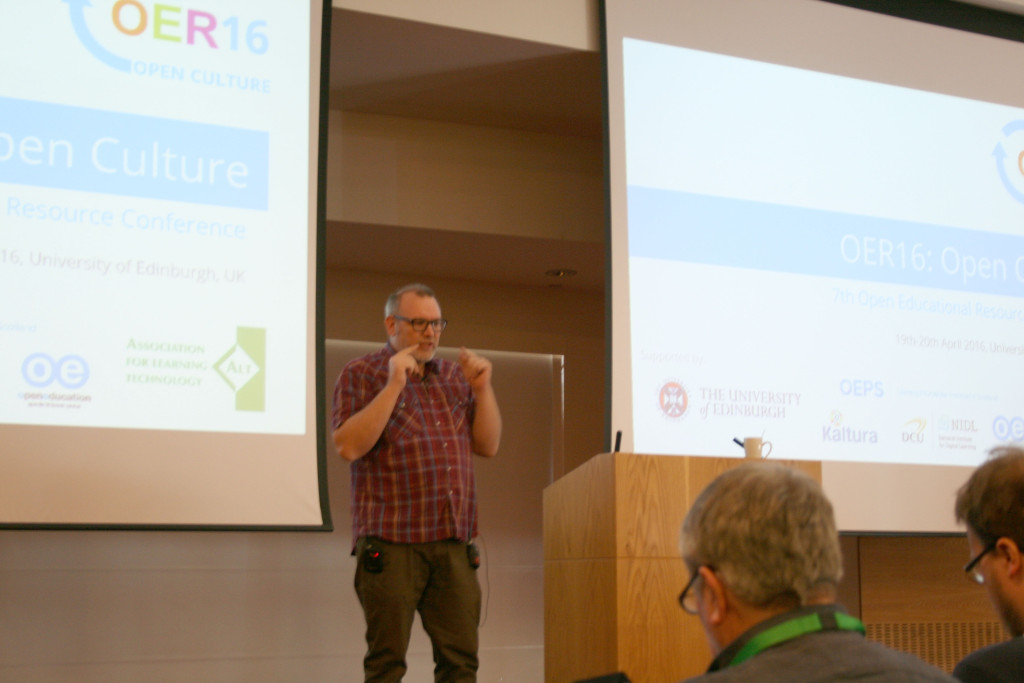 Jim Groom at OER16