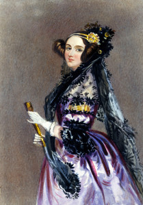 Ada Lovelace Alfred Edward Chalon [Public domain], via Wikimedia Commons