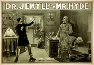 Jekyll & Hyde poster from the US Library of Congress. CC-BY-SA