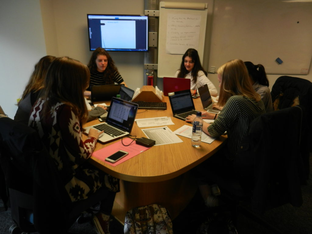 Reproductive Medicine undergraduates - collaborating to create Wikipedia articles.