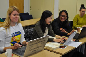 Women-and-Relgion-Edit-a-thon at New College. Photo by Dr Alexander Chow. CC-BY-SA
