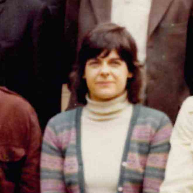 Mary Susan McIntosh (1936–2013) sociologist, feminist, political activist and campaigner for lesbian and gay rights in the UK. A 1974 colour photograph from her time as a Research Fellow at Nuffield College, Oxford. CC-BY-SA